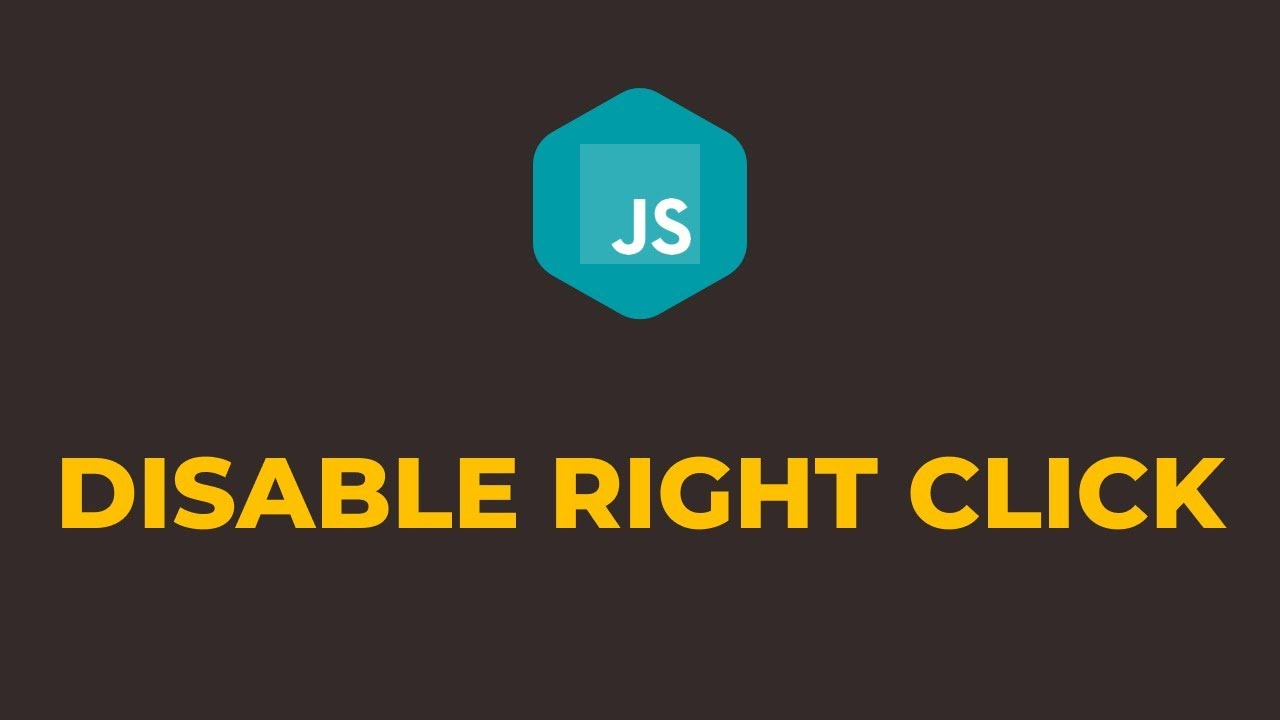 How to Disable Right Click on Website using Javascript