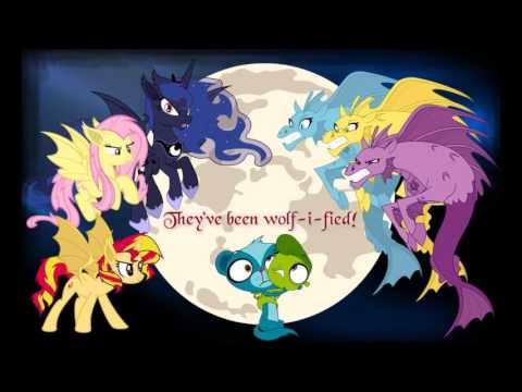 Lps/Mlp Wolf-I-Fied