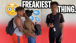 Freakiest Thing You've Done In School 😳💦 | High School Edition 📚