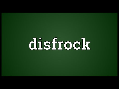 Header of disfrock