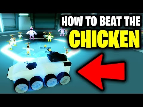 [How To] BEAT THE CHICKEN BOSS EASY! (Insane Glitch) | Invader Car | Roblox Mad City New Update