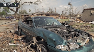 RAW  Aftermath of multiple tornadoes in New Orleans