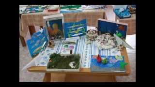 Выставка поделок ко Дню Черного моря. Детский сад №28 г. Сочи