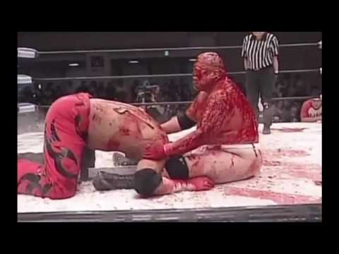 world bloodiest match in the world BJW Abdullah Kobayashi vs Shuji Ishikawa