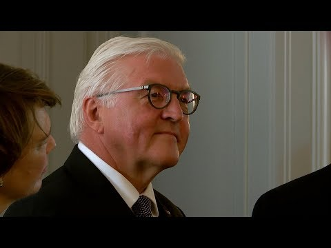 Bundespräsident Frank-Walter Steinmeier in Wiesbaden