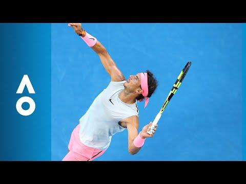 Rafael Nadal v Victor Estrella Burgos match highlights (1R) | Australian Open 2018