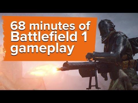 68 minutes of Battlefield 1 gameplay - Sinai Desert map - Gamescom 2016