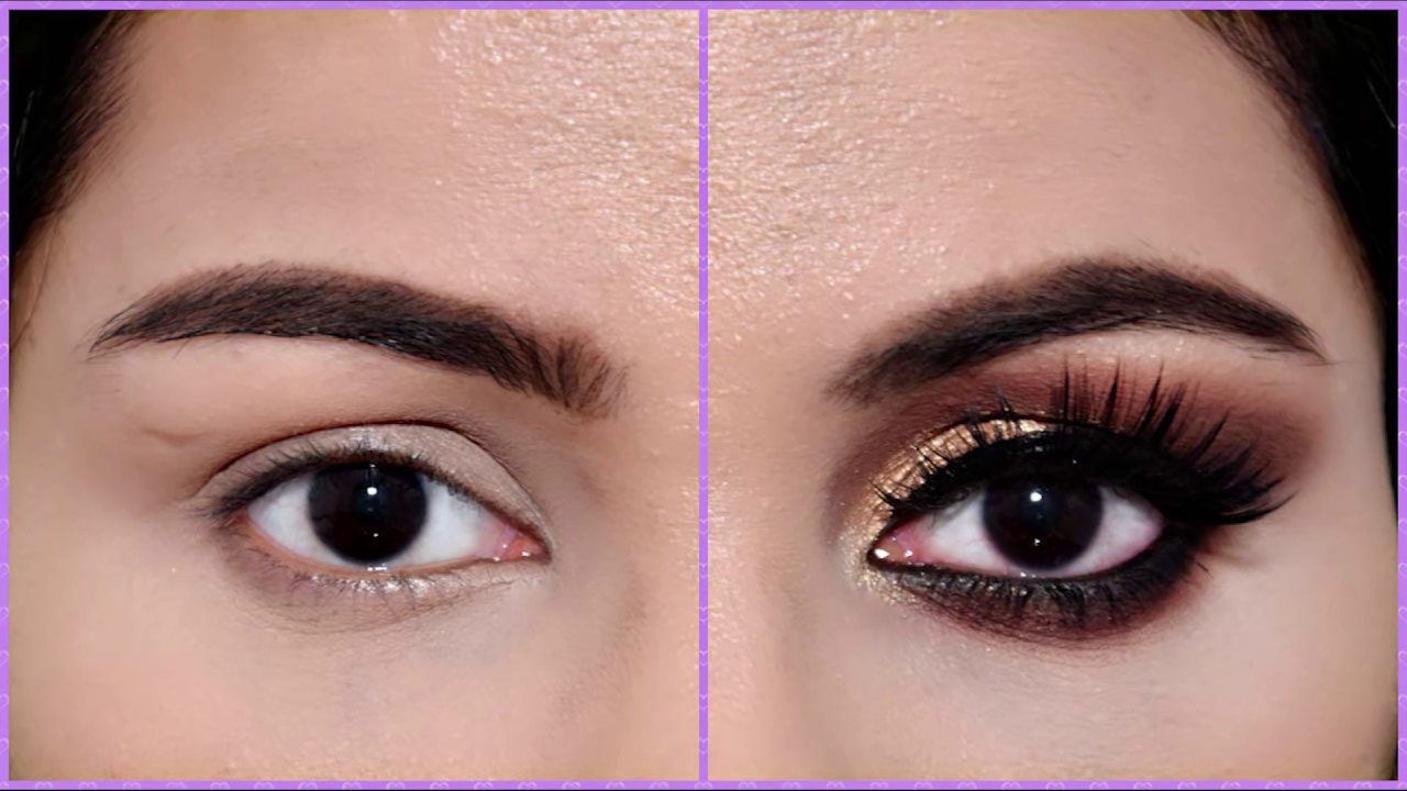 How To Apply Eyeshadow On Small Eyes In Hindi