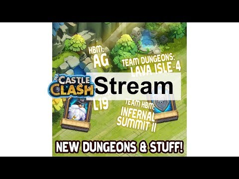 Update Stream HBM AG, L19, Lava 4 und HG 2 by Meteor & Hunted Castle Clash
