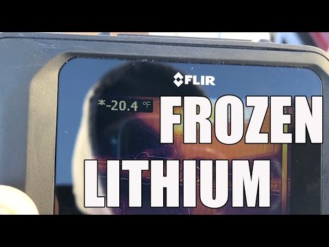 Lithium Ion Battery Freeze - Below Zero What Happens?