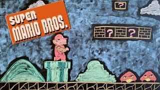 Super Mario Bros. ♫ Relaxing Lullaby Music + Chalk Art