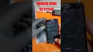 LG G3 TROCANDO TELA FRONTAL LG G3 STYLUS