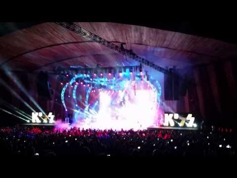 KISS Intro/Psycho Circus. Cleveland, Ohio 8-26-14