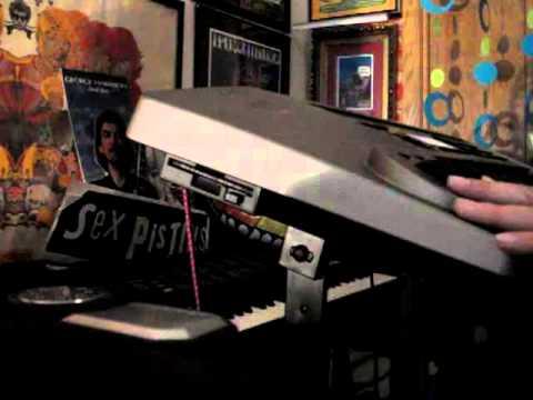 Mark Gleed of SOMA playing Debussy Syrinx on a Yamaha VL1 synthesizer