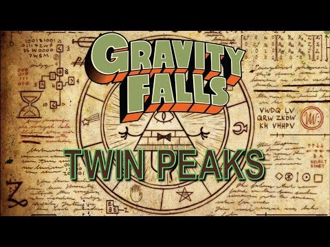 Twin Peaks Reference in Gravity Falls