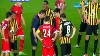 Футболист «Актобе» Егор Сорокин безнаказанно ударил в живот Жарко Марковича