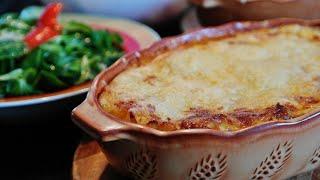 Домашняя Лазанья.  Как готовить лазанью пошаговый рецепт