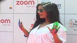 Check Out: BIKNI Actress Poonam Panday  - Zoom Holi Party Celebration 2016