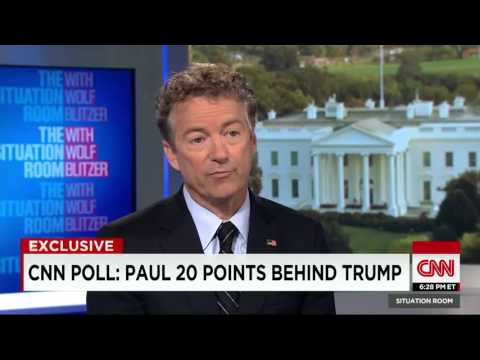 "Rand Paul: ""I want government to be so small there is no influence to be sold"""