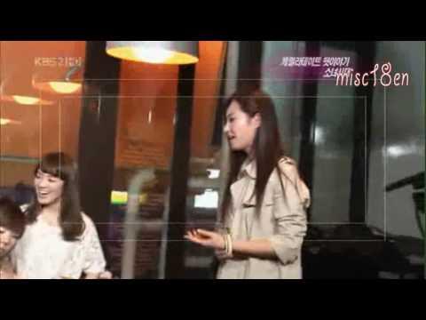 Yoonyul funny *윤율* - Epic Moment ( Yoona Caught Drooling Over Yuri..)