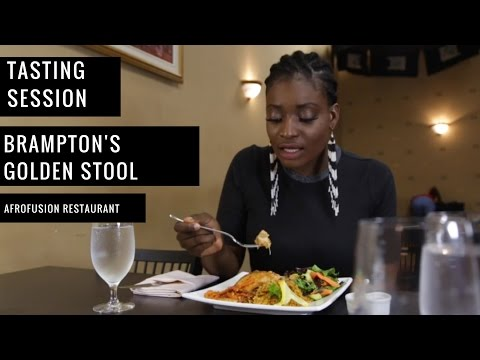 Tasting Session at Golden Stool Afro-fusion Restaurant Lounge with Chef Kwame
