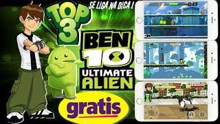 Top 3 saiu 3 jogos novos do Ben 10 apara android DOWLOAND FREE