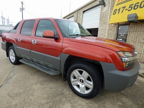 1 Owner, 2002 Chevrolet Avalanche 1500 -- SOLD!
