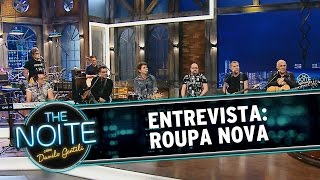 The Noite (20/11/14) Entrevista com Roupa Nova