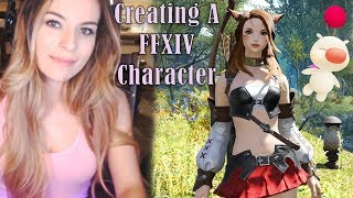 ASMR - Creating a FFXIV Character | Whispering, clicking, kitty purring, etc.