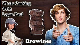 How to make Brownie With Logan Paul