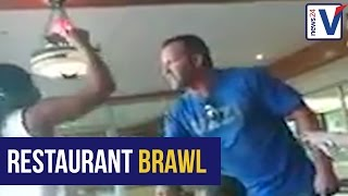 Man banned from Spur after trying to overturn table in heated argument