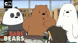 We Bare Bears | How (NOT) to Prep for a Test | Cartoon Network