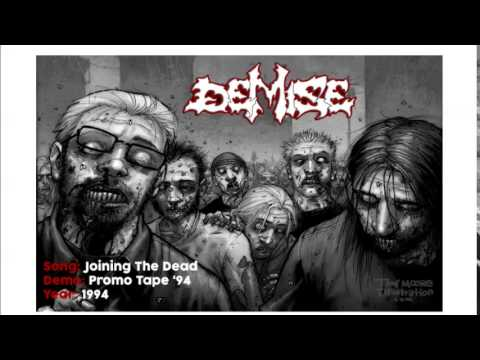 Demise - Joining The Dead promo tape