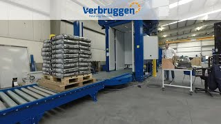 Palletizing | Automatic bag palletizer VPM-10 by Verbruggen | stacking of petfood