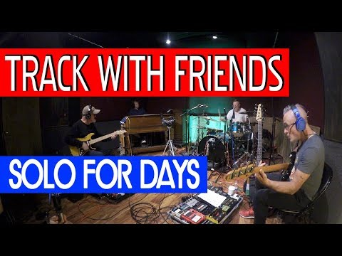 Track With Friends | Solo For Days | Tim Pierce | Soloing Over Key Changes