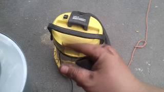 tuto#20 comment réparer un aspirateur karcher a 2254