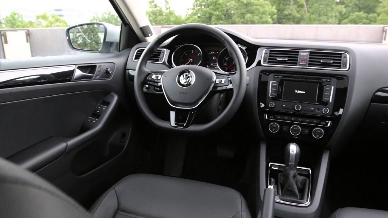 2015 VW Jetta Interior Design Trailer | AutoMotoTV   YouTube