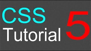 CSS Tutorial for Beginners - 05 - Inheritance and overriding