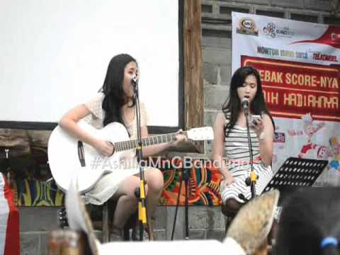 Ashilla ft Shanindya - What makes you beautiful #AshillaMnGBandung