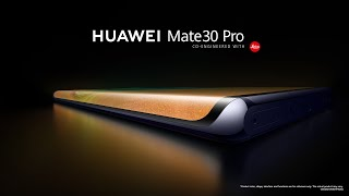 Introducing the new HUAWEI Mate 30 Series