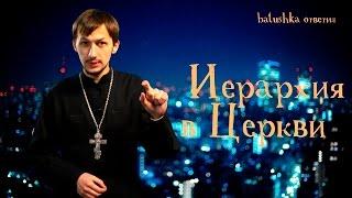 Иерархия в Церкви. Batushka ответил.