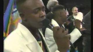 K-Ci and JoJo (of Jodeci) sing Star Spangled Banner @ Mike Tyson Fight