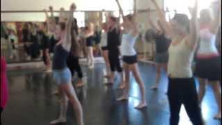 Haitian Dance Workshop at Santa Rosa High School