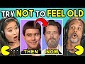 Adults React To Try Not To Feel Old Chal