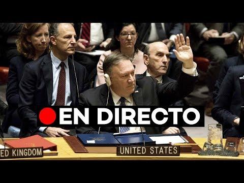 [EN DIRECTO] La ONU debate si envía un mediador a Venezuela