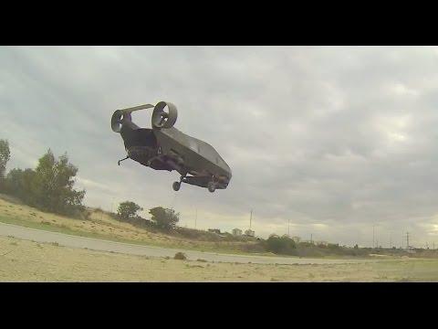 Urban Aeronautics - AirMule Unmanned VTOL Fancraft Flight Tests [1080p]