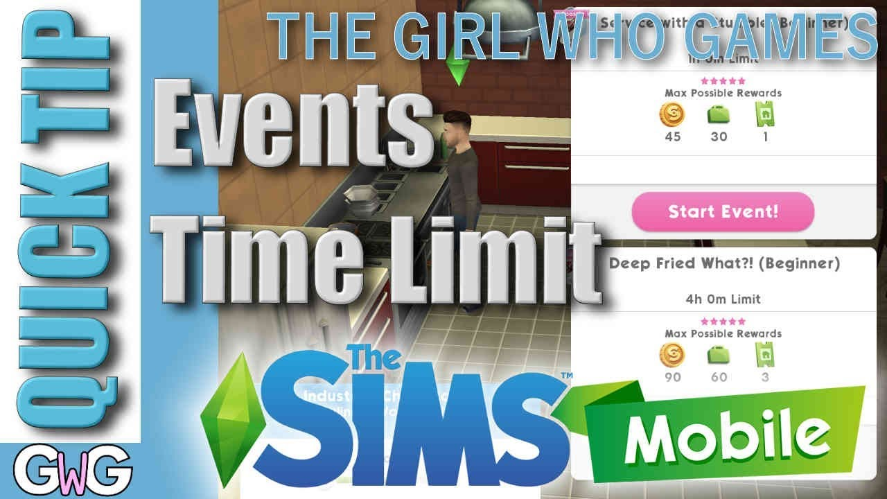 QUICK TIP: The Sims Mobile- Events Time Limit