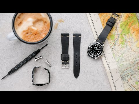 How To Change A Watch Bracelet And Fit A Leather Or Nato Strap
