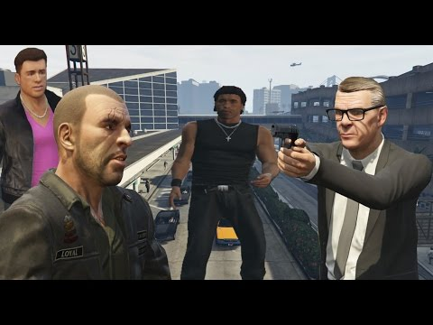 GTA IV Characters Appears in GTA V