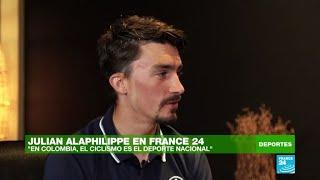 """Julian Alaphilippe: """"el ciclismo en Colombia es el deporte nacional"""""""